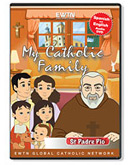 MY CATHOLIC FAMILY - ST. PADRE PIO - DVD