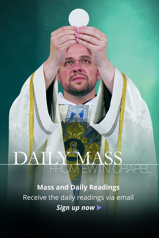Sign Up for Daily Mass Reminders