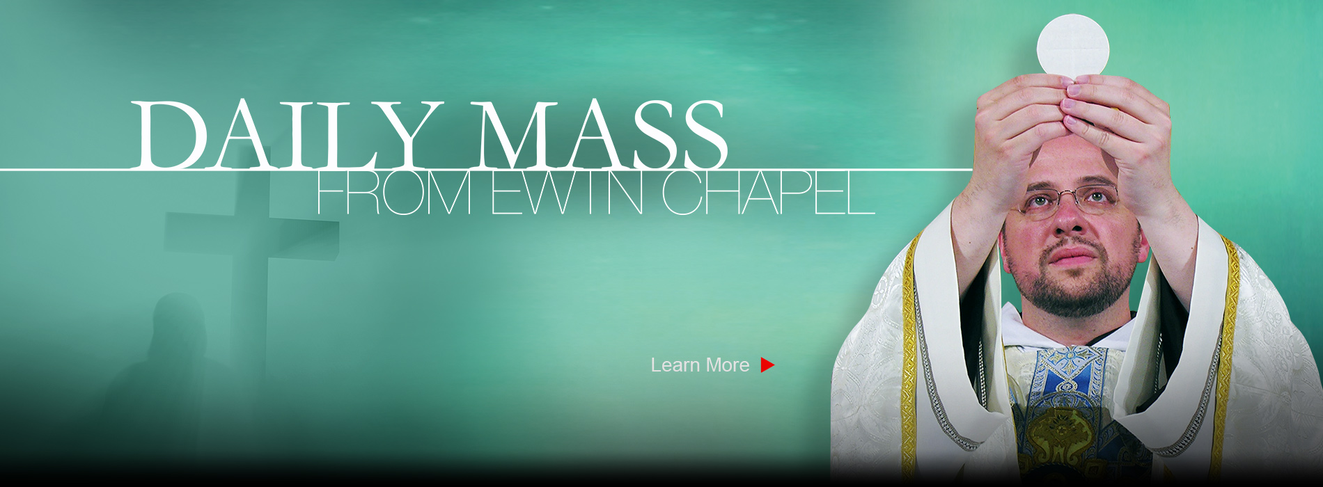 Join us for daily mass on EWTN