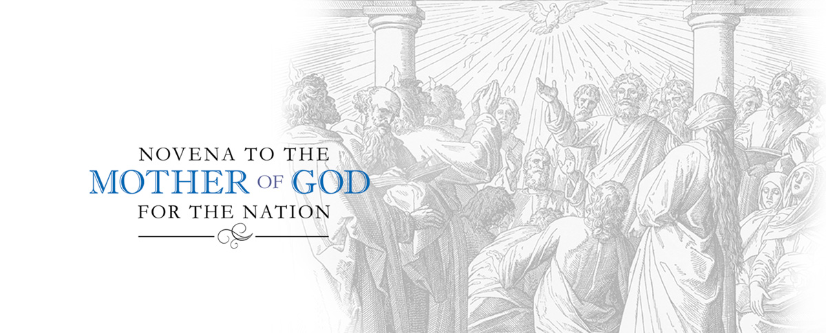 NOVENA TO THE MOTHER OF GOD FOR THE NATION